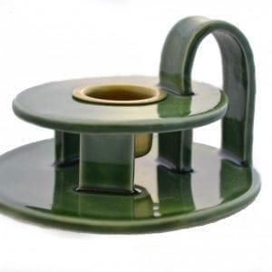kammerstage-keramik-groen-mosgroen-dansk-design-bordpynt-handmade-indretning