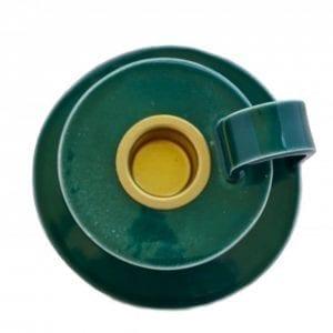 kammerstage-groen-keramik-stentoej-dansk-design-bolig-indretning-bordpynt-flaskegroen-moderne