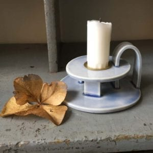 keramik kammerstage i lyseblaa - dansk design - karina weihrauch