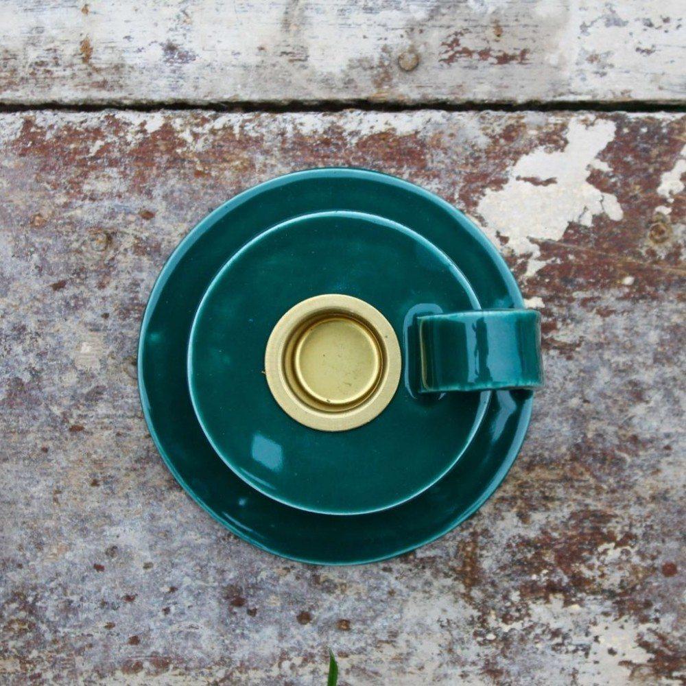 Keramik Kammerstage - Flaskegrøn