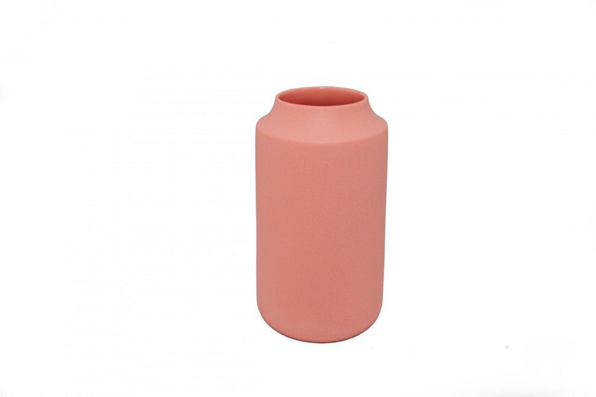 Keramik Vase Rødlig/Laks - Royal