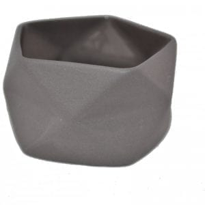 fyrfadsstage, keramik, sort, lysestage, aftenhygge, dansk design, trine rytter