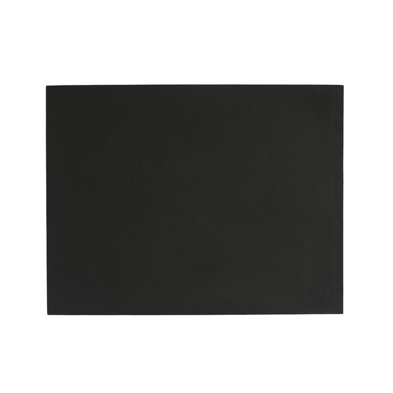 Image of   Dækkeserviet rektangulær sort - 44 x 34 cm