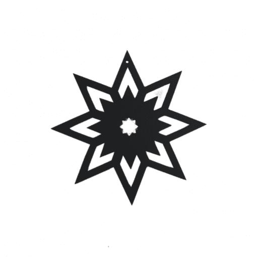 super stjerne_julepynt_pynt til gren_sej design_30339-75