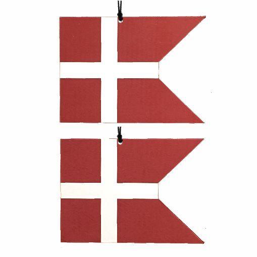 Image of   Flag, Spids vandret - 2 stk