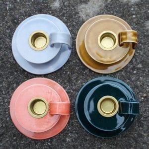 Keramik Kammerstage - Brændt Karry