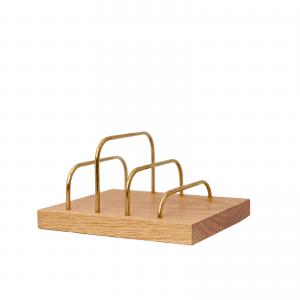 Brass-dock-danish design-dot aarhus-brevholder-ipadholder-phoneholder