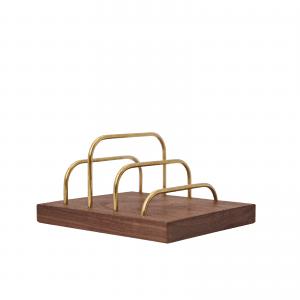 Brass-dock-messing valnoed-dot aarhus-brevholder-mobilholder-mobilfrizone-ipadholder-modernhouse