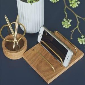 Brass-dock oak brass - pen-up2