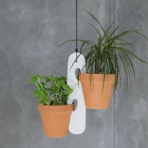 Planteophæng i Hvid - Hänger White