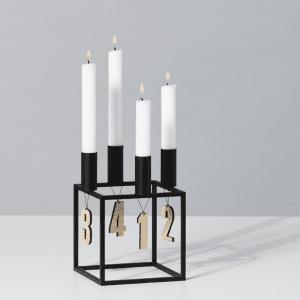 advents tal i egetrae - juledekoration - adventskrans - dansk design