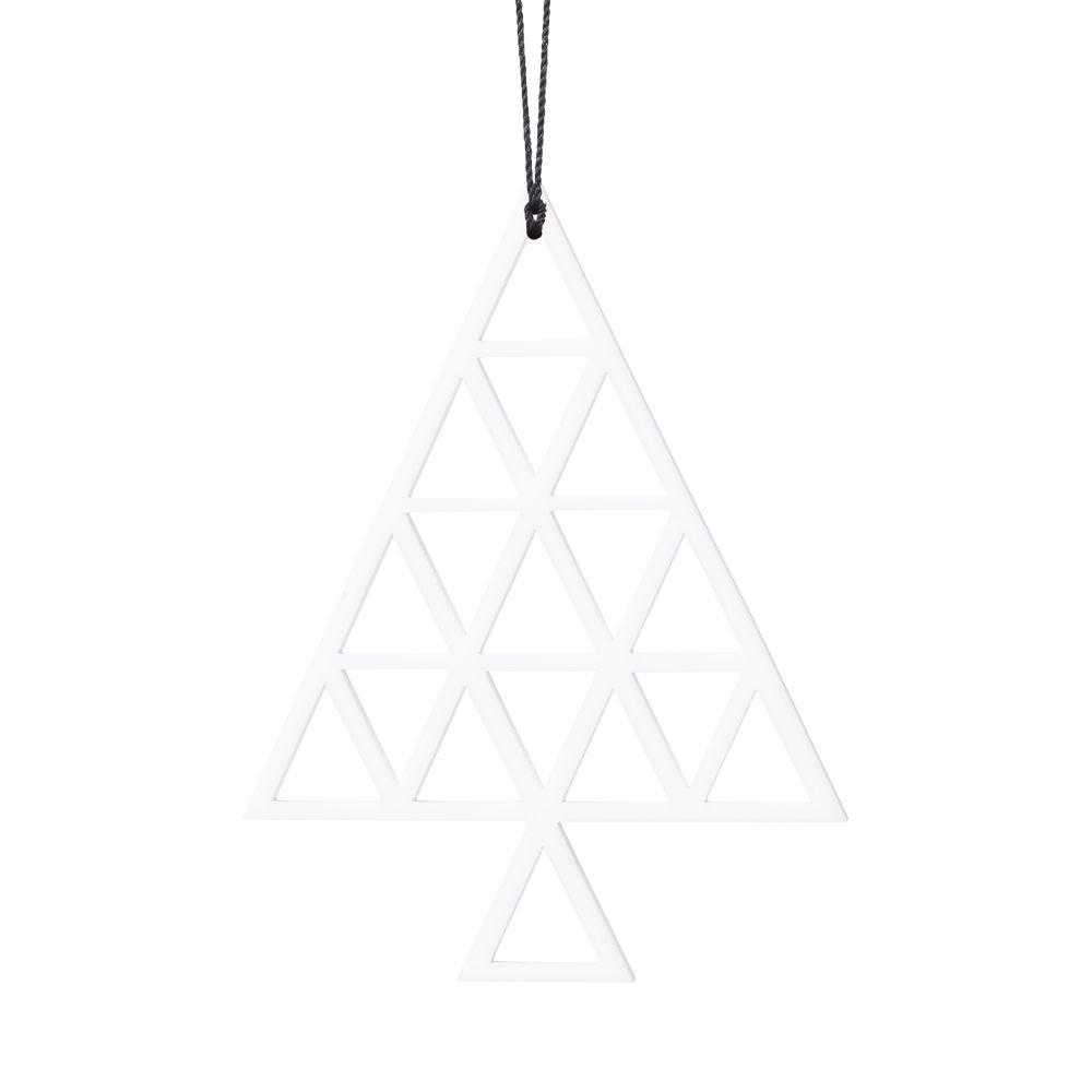 Hvid Juletræ (Streg)