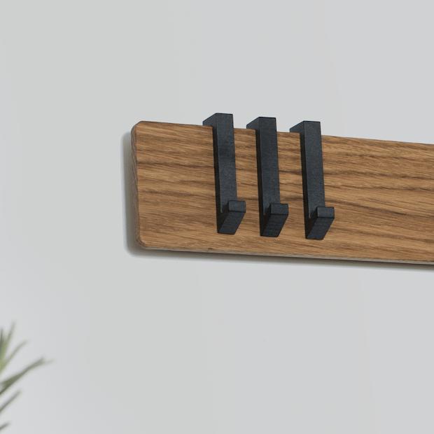 Knage Sort - Til Plank