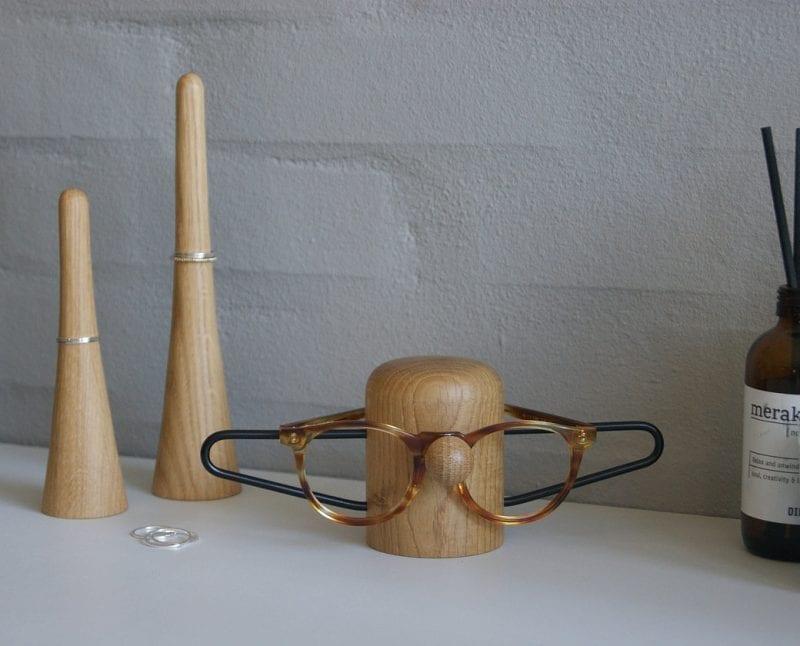 Brilleholder Sort/Egetræ - Nosey Black