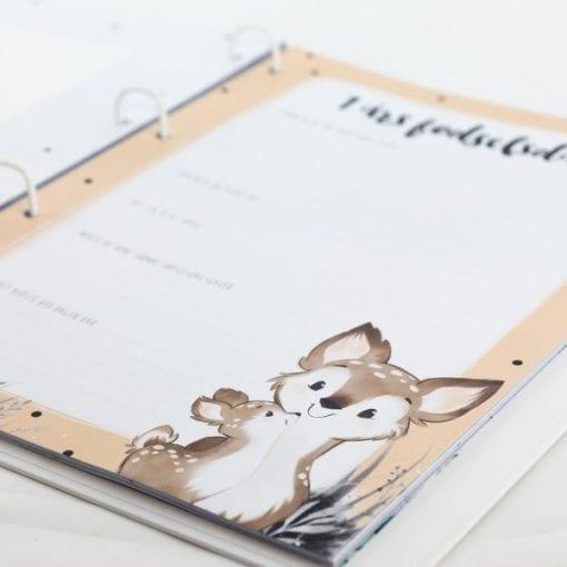 Barnets Bog med Bjørne - A4 - ekstra sider