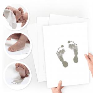 Baby aftryk - aftryk baby - prik og streg - aftrykssaet - modernhousedk