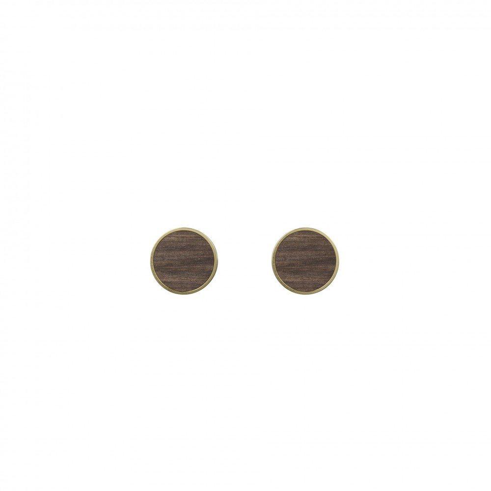 Øreringe Determinativ - Dark Wood