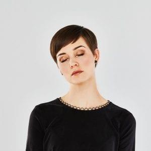 Øreringe Determinativ - Black