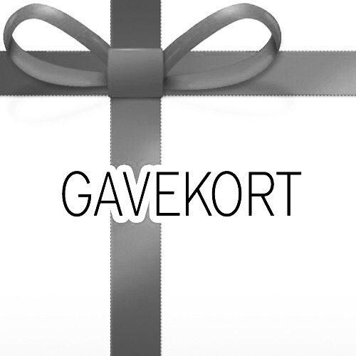 Gavekort - Vælg selv beløbet