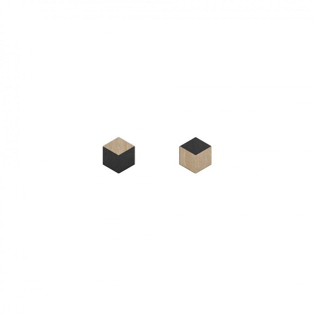 Øreringe Numerale - Black