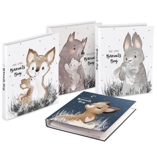 Barnets Bog - 4 forsider