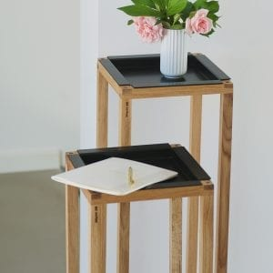dot aarhus - wood up - tray black - dansk design