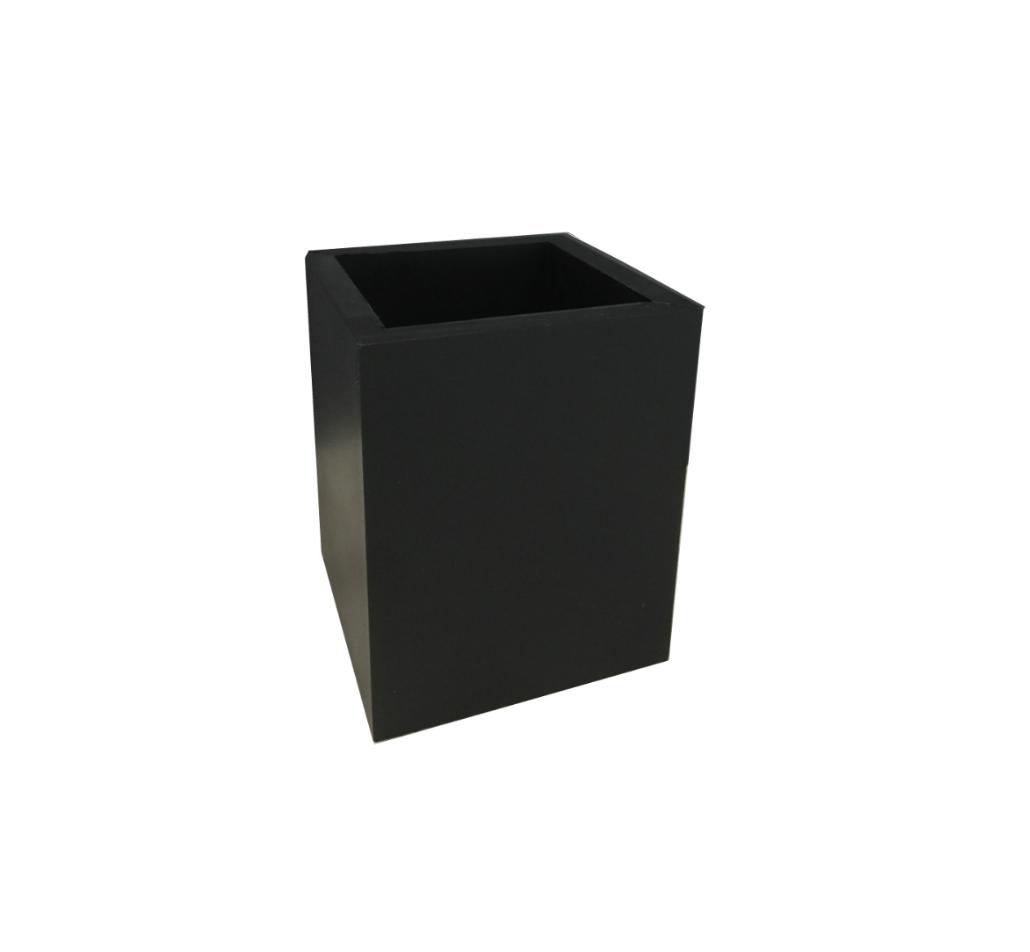 Krukke - Multi Rektangulær x-small Sort - 8x8x10 cm