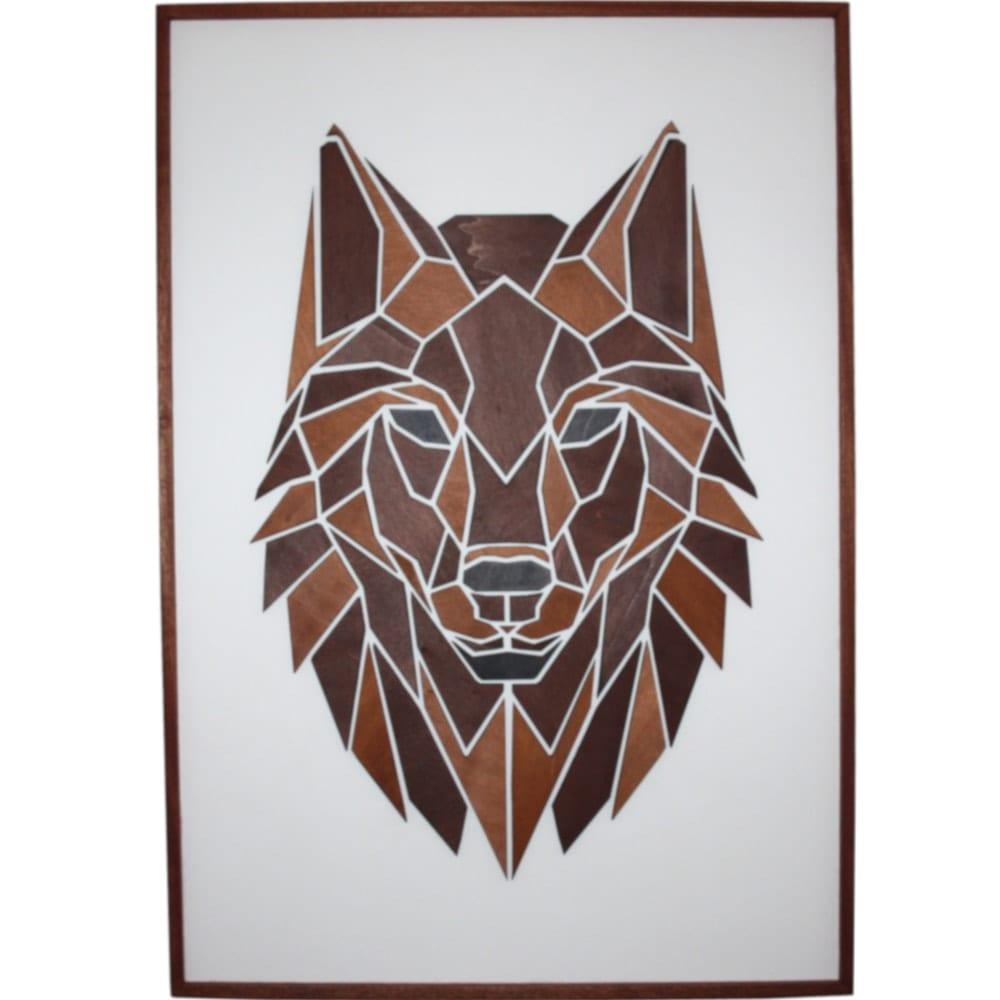 Image of   Plakat med Træmotiv - Ulven