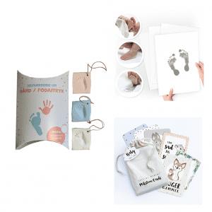 Startpakke_selvhaerdende ler_aftrykssaet_milestone baby kort