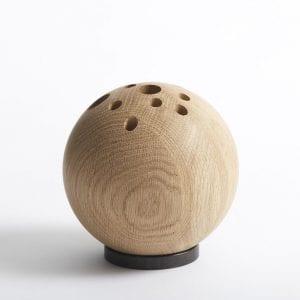 lebowski - the oak men - egetrae - gaveide mand - gaveide kvinde - organizer - kontorartikler - vase