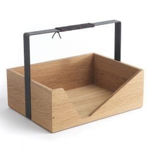 carrie magasinholder - the oak men - egetrae - opbevaring - dansk design