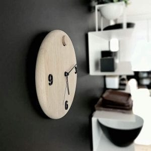 wood time ur - andersen furniture - vaegur - ur i egetrae - dansk design