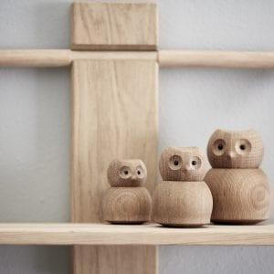 owl traefigurer - andersen funiture - figur i egetrae - gaveide - dansk design