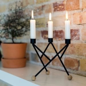 north star lysestage - andersen furniture - dansk design - candle holder