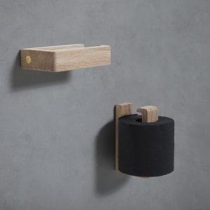 toiletrulleholder - toilet towel holder - andersen futniture - toiletrulleholder egetrae - dansk design