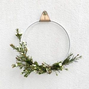 Strups rings white - planteholder - dansk design