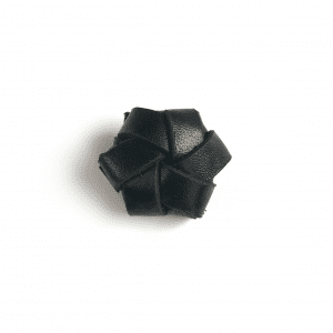 strups leatherknop - strups leather flower - strups ring