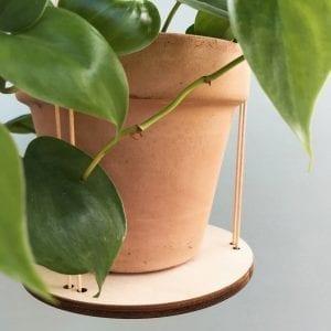 lyng planteholder leerbaek - dansk design