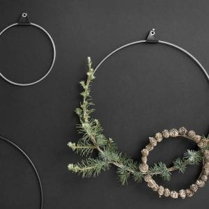strups_rings_silver_black_cristmas_decoration