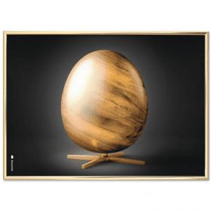 Brainchild-aegget-tvaerformat-plakat-poster-dansk design - modernhouse