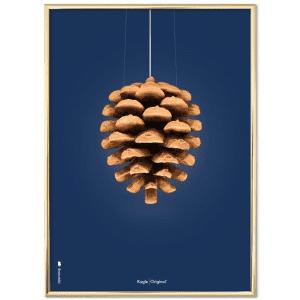 Brainchild-poster-moerkeblaa-plakat-koglen-modernhouse-dansk design