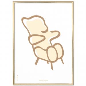 Brainchild-poster-plakat-bamse-neutral-natur-modernhouse