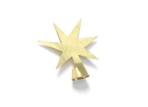 The Oak Men-messing stjerne-julepynt-dansk design