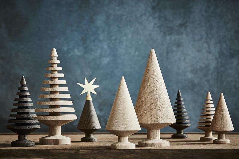 the oak men - small tree - julepynt - dansk design - juletrea