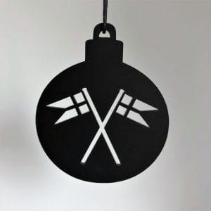 julekugle-med-flag-ryborg urban designs-dansk design