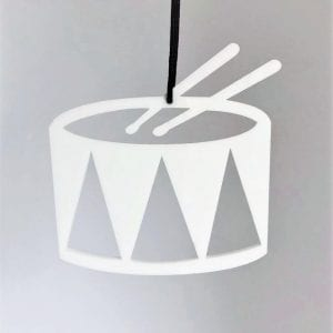 tromme-julepynt-denmark-hvid