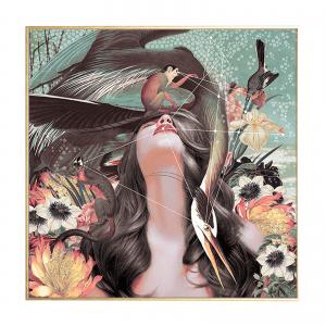 flower girl_illustration_maleri_house of sander_indretning
